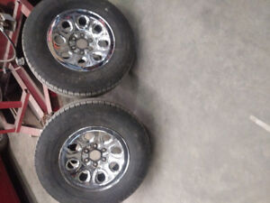 265 70 17 tires are almost new