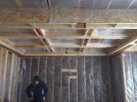 Residental insulation crew to help rebuild