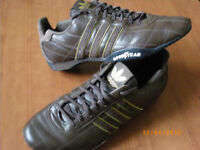 ADIDAS LEATHER RUNNING SHOES FOR MEN