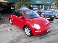 Volkswagen Beetle 1.4 2007 Luna CONVERTABLE FULL MOT 77000MLS