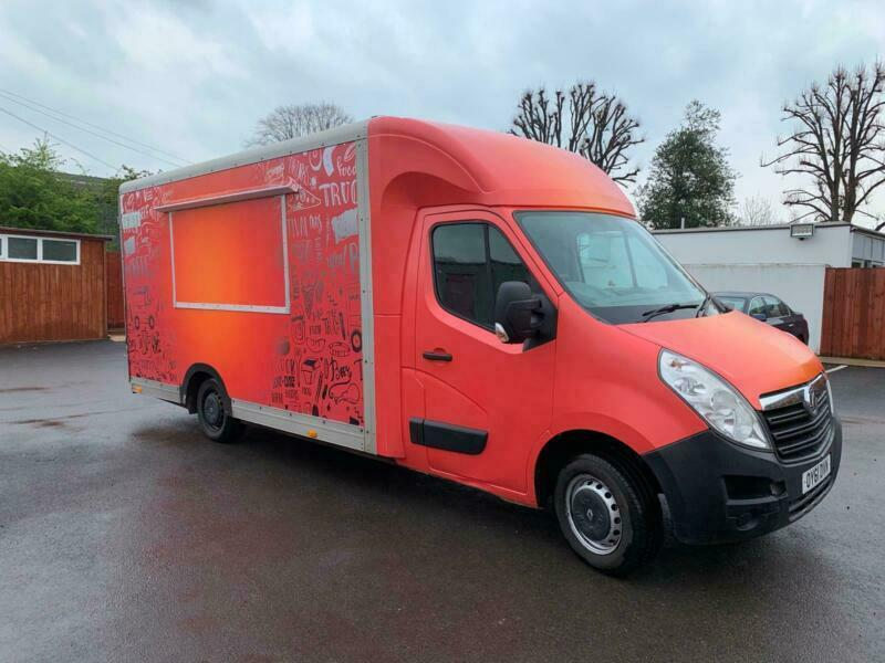 d810e5dee8 VAUXHALL MOVANO MOBILE KITCHEN CATERING BURGER FOOD TRUCK COFFEE  VAN FOR  SALE