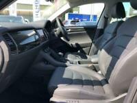 2020 Skoda Kodiaq Edition 2.0 TDI 150 PS DSG 7 Seater MPV with Full Black Leathe