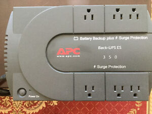 Battery back up / surge protector