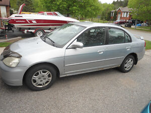2001 Honda Civic LX 4 Door with Remote Starter and Power Options
