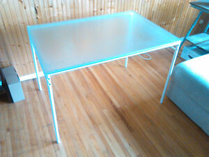 FOR SALE: IKEA Frosted Table