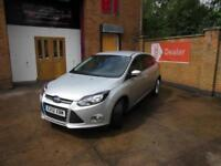 2012 Ford Focus 1.6TDCi Zetec 5dr Manual Hatchback in Silver