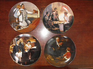 Norman Rockwell Collector Plates St. John's Newfoundland image 1