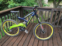 brand new Merida Downhill Bike