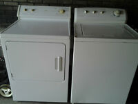 commercial washer & dryer