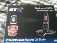 BT HOME PHONE ( WITH ANSWER MACHINE )