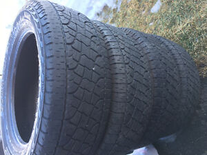 Set of 4 Pirelli 275 55R 20 Scorpion ATR off F150 4x4