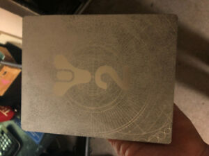 Mint condition collectors edition steel book case destiny 2 lmtd