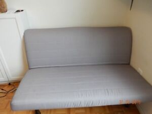 Sofa-bed in very good condition, with removable cover and remova