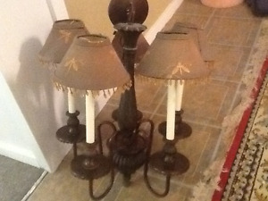 Antique Country style chandelier for sale