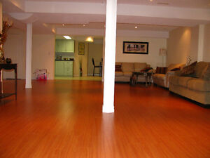 SPACIOUS 2 Bedrooms Basement Apartment for Rent,Churchill Meadow