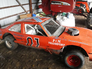 General Lee Stock Car Race Car