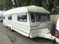 1997/98 Romahome GT762 27FT 6 BERTH 3 DROP WINDOWS DIANT TWIN ALXE P/X