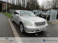 LEXUS LS 2003 Auto 0 Petrol Silver Petrol Automatic in Silver