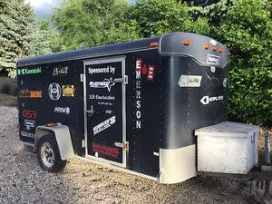 2001 6x12 haulmark enclosed trailer $3200.00 obo