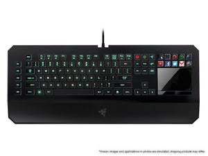 Razer deathstalker ultimate with headset and mouse