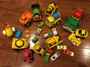 Lot of Small Cars - In Great Condition