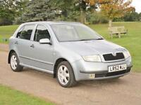 2003 Skoda Fabia 1.4 16v auto Elegance Only 24,000 Miles From New