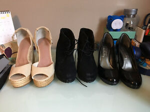 Summer Shoes - espadrilles, wedges, and heels!