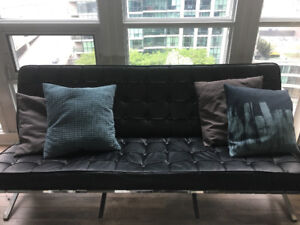 Modern Black Design Couch