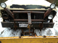 Snow Plow, off a 74 ford