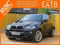2009 BMW X5 3.0D Turbo Diesel 232 BHP M Sport 7 Seater 4x4 4WD 6 Speed Auto Pan