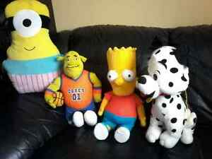 "Plush toys size 19 "" up to 24 """