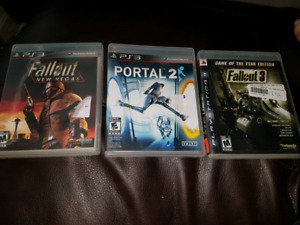 Selling PS3 Game Bundle