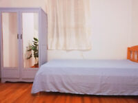 new renovate spacious & bright room move in right now