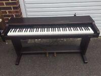 Technics Digital Piano and Yamaha Stool