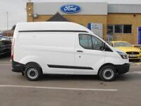 2018 Ford Transit Custom 270 SWB H/R 2.0 Tdci 130PS Diesel white Manual