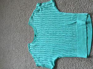 Turquoise Knitted Shirt