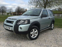 2005 Land Rover Freelander 2.0Td4 Adventurer Manual Diesel Convertible in silver