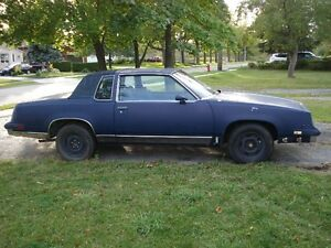1986 OLDS CUTLASS SUPREME