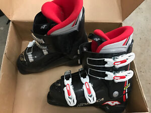 Ski set for boy