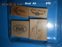 """Stampin Up Stamp Set  """"OVAL All"""""""