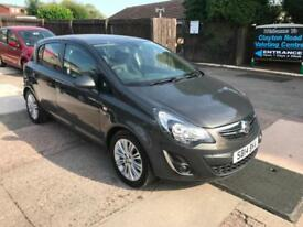 2014 VAUXHALL CORSA SE 1.2 PETROL 5 DOOR, MANUAL, ONLY 24,000 MILES FROM NEW.