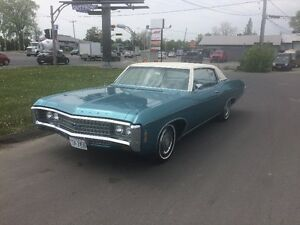 1969 Impala Custom Coupe...100% Match Number avec built sheet