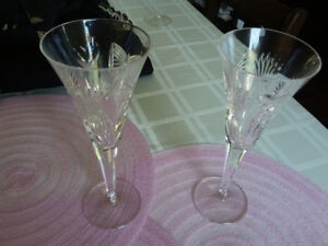 Waterford Crystal Wine/Champagne glasses