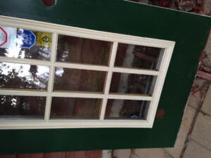 Used steel front and back doors