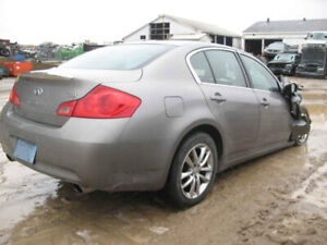 FOR PARTS 2007 INFINITI G35@PICNSAVE WOODSTOCK