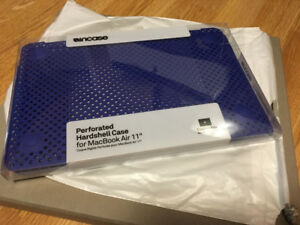 Macbook Air 11 inch case and keyboard protector - new!