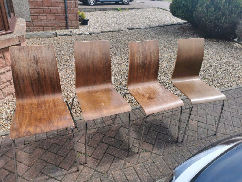 4 dining chairs free – need to be gone today