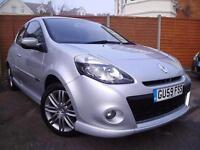 Renault Clio 1.6 VVT ( 128bhp ) 2009MY GT SAT NAV, LEATHER, AIR CON,CRUISE !!!