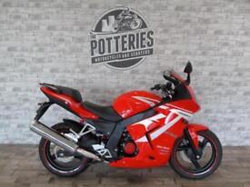 Daelim Roadsport 125 Sports bike learner legal *Brand New 8.9 APR Finance*