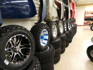GOLF CART 12INCH LOW PROFILE WHEEL AND TIRE PACKAGE Belleville Belleville Area image 5